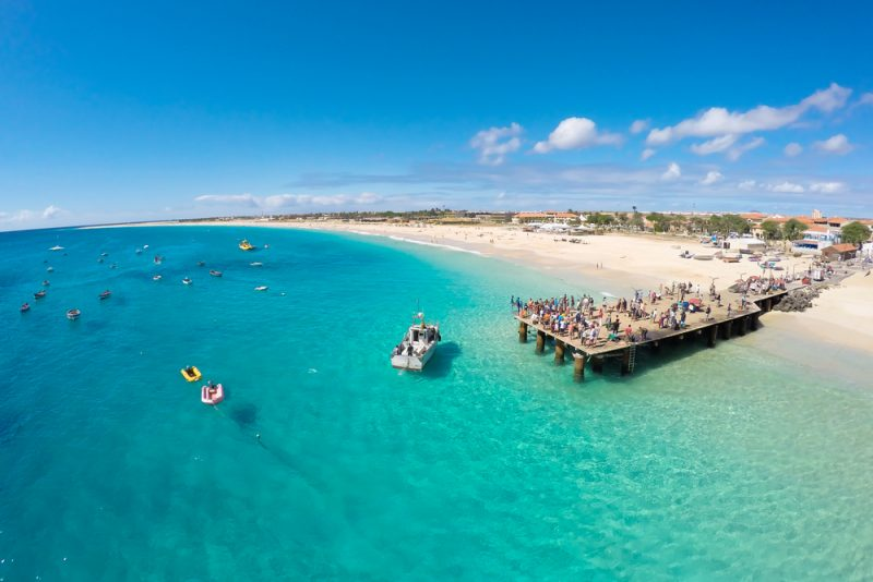 Cheap full-service flights from Basel to Cape Verde for only €180!