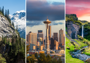 Iceland, Seattle and Alaska in one spring trip from London for £431