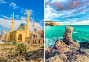 2 in 1 from Vienna: Cyprus and Lebanon in one spring trip for just €48