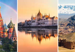 3 in 1 from London: Kazakhstan, Russia and Hungary for just £97