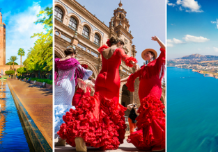 Summer 3 in 1 from Berlin: Spain, Morocco and Sicily for €81