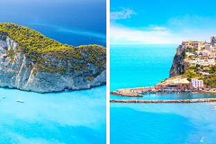 Summer trip from Vienna: Zakynthos and Bari for €75