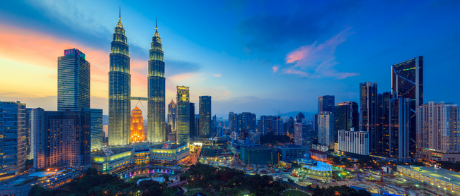 Cheap full-service flights from Germany to Malaysia from only €409!