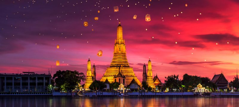 High Season 2020! Cheap flights from Berlin to Bangkok, Thailand from only €396!