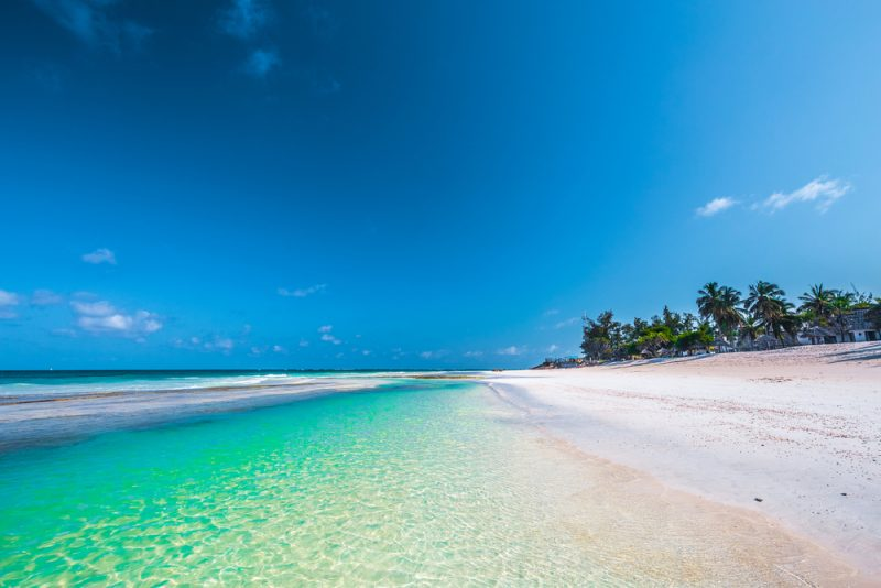 Cheap full-service flights from Frankfurt or Vienna to exotic Mombasa from only €359!