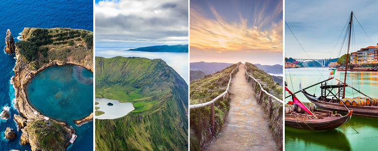 Explore Portugal! Porto, Lisbon and four Azores islands from London for just £93!