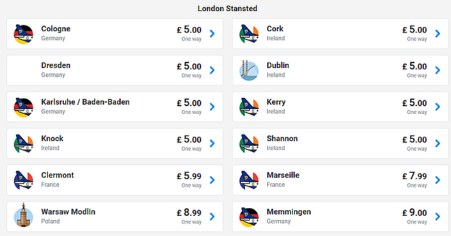 Ryanair Sale Cheap Flights Across Europe From Just 4 One Way