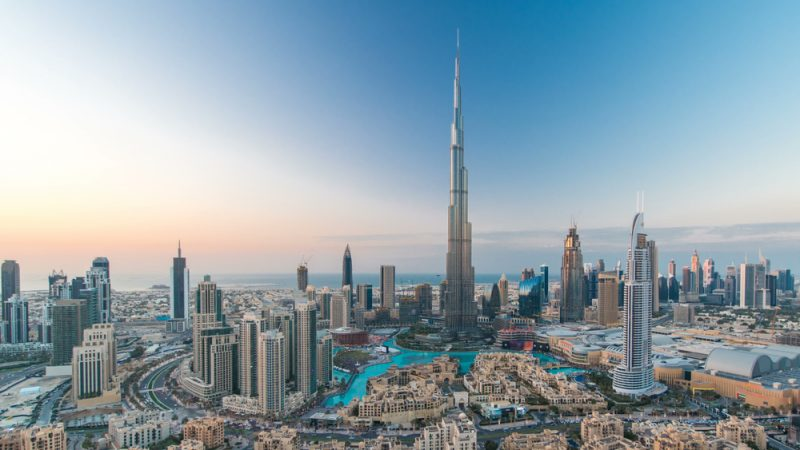 Full-service flights from Germany to Dubai from only €270!
