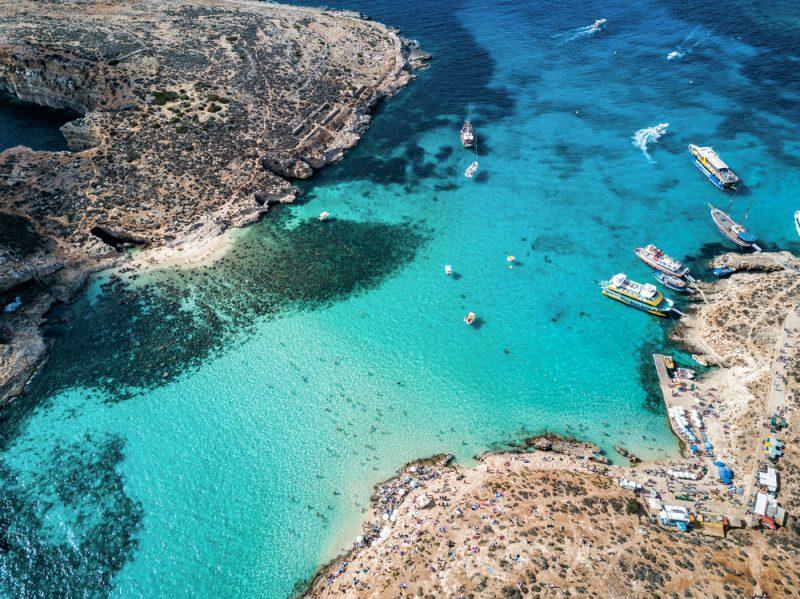 ST Blue Lagoon Comino Malta ph Nicholas Courtney