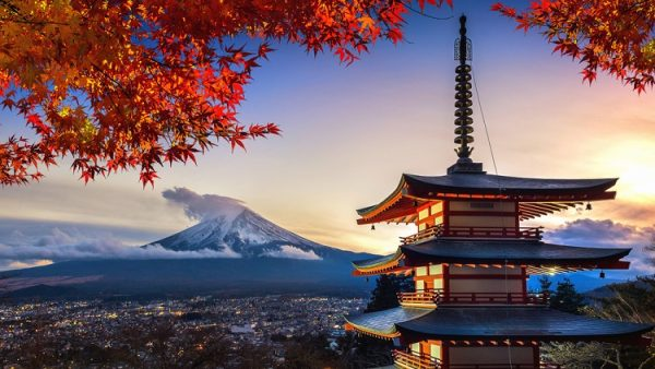 NEW 750px ST pagoda Chureito Fuji autumn colours Japan Tokyo ph Guitar photographer