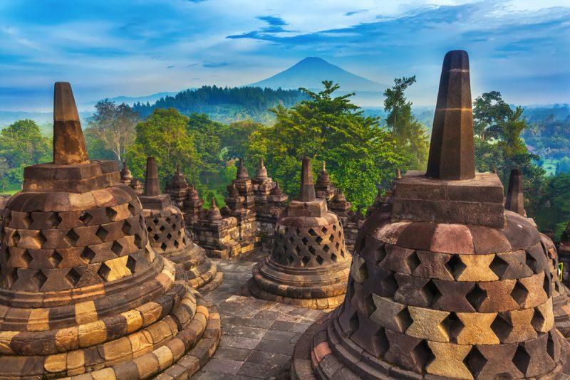 ST Candi Borobudur Yogyakarta Java Indonesia ph Valery Bocman