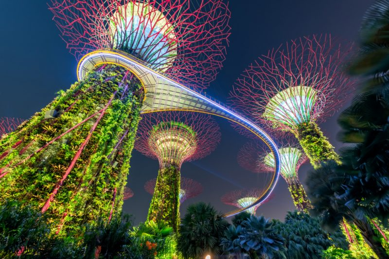 Until December! Cheap full-service flights from Frankfurt or Munich to Singapore from only €375!