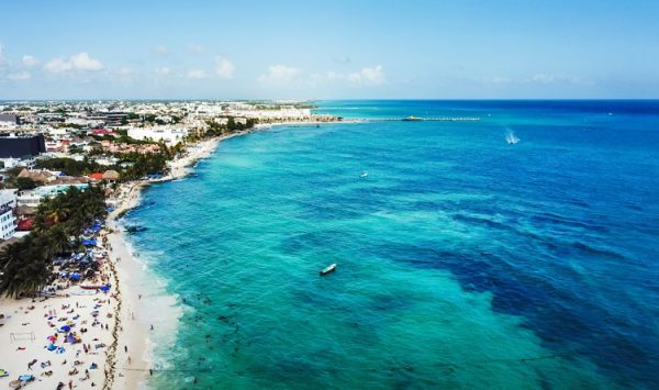 NEW 750px ST Playa del Carmen aereal view Mexico