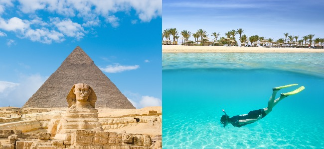 Cheap trip to Egypt from Berlin over Spring 2021 from €117! Visit Sharm El Sheikh, Cairo, Luxor and Hurghada!