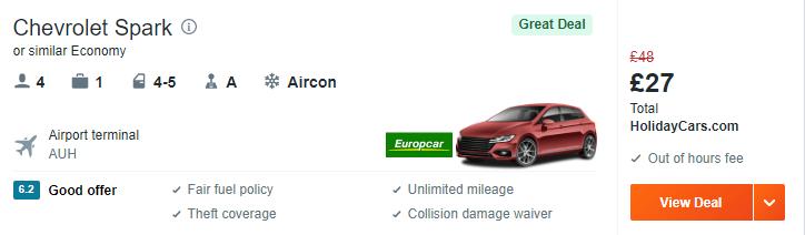 auh car