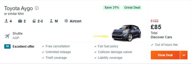 agp car