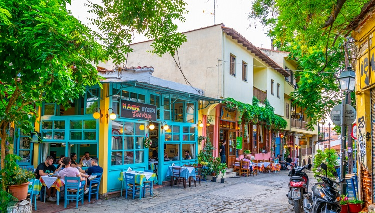 Weekend at well-rated hotel in Thessaloniki's centre + cheap flights from Germany for €67!