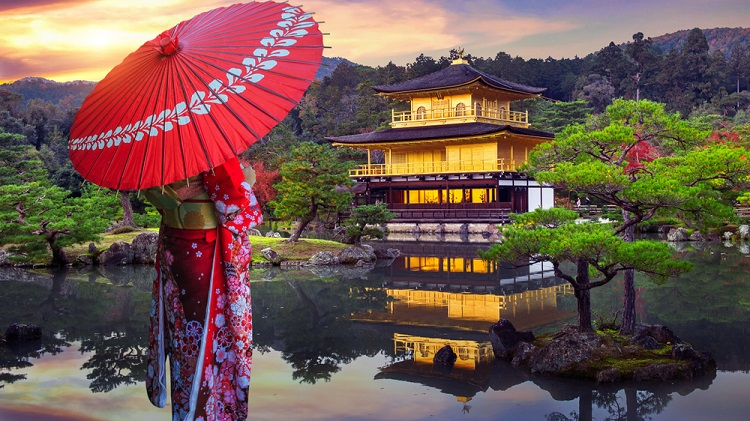 750px ST Kinkakuji Temple Japan ph Guitar photographer