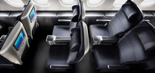 British Airways premium economy