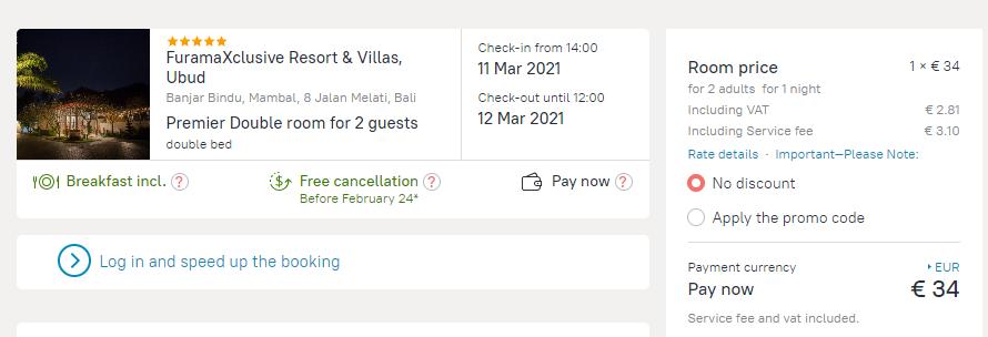 FuramaXclusive Resort Villas Ubud