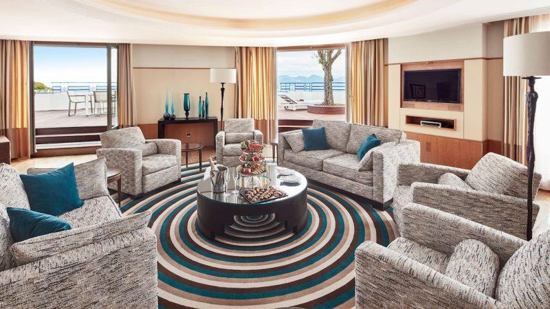 Grand Hyatt Cannes Hotel Martinez P730 Penthouse Suite.16x9 2