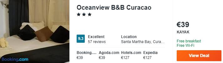 Oceanview BB Curacao