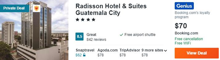 Radisson Hotel Suites Guatemala City