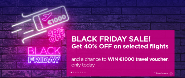 Wizz Air Black Friday Sale