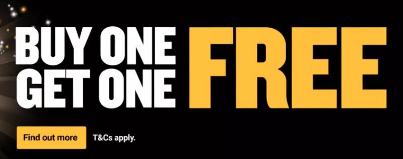Ryanair Black Friday Sale! Buy one, get one free!