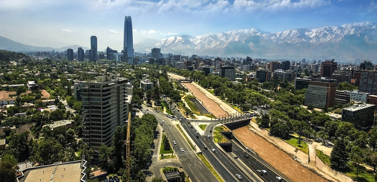 Cheap flights from Portugal or Germany to Santiago, Chile from only €363!