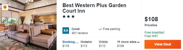 Best Western Plus Garden Court Inn