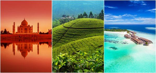 India Sri Lanka Maldives ST