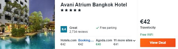 Avani Atrium Bangkok Hotel 1