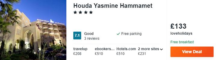 Houda Yasmine Hammamet