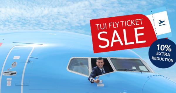 TUI fly Belgium promo code 1