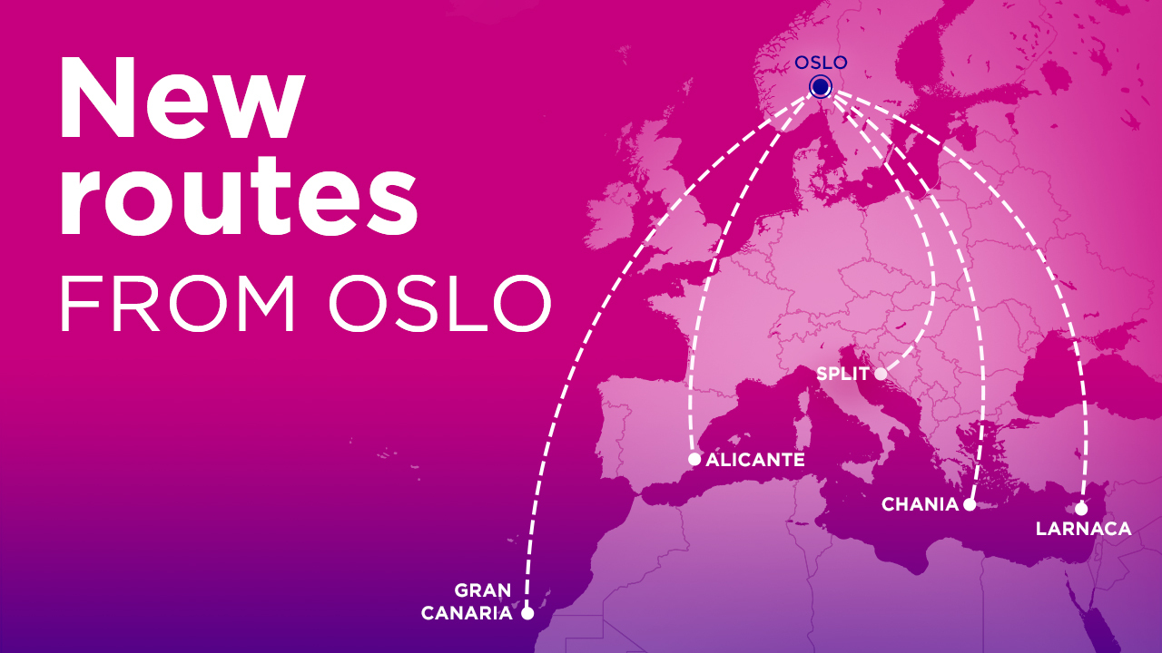 Wizz Air details five new summer 2021 routes from Oslo