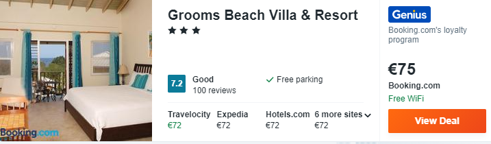 Grooms Beach Villa Resort