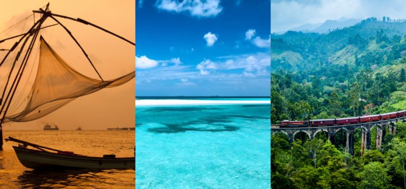 Kochi India Sri Lanka Maldives ST