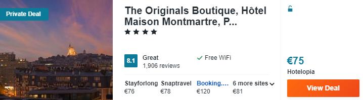 The Originals Boutique H%C3%B4tel Maison Montmartre Paris