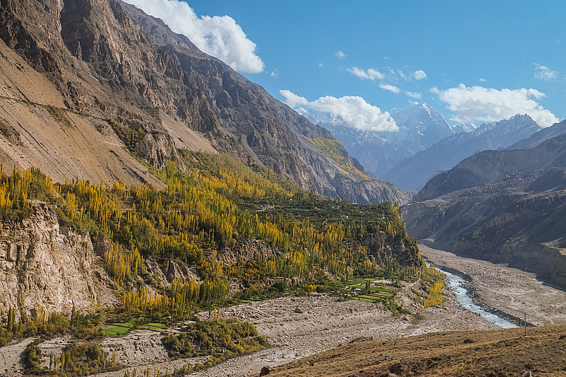 Cheap flights from Europe to Pakistan from only €208!