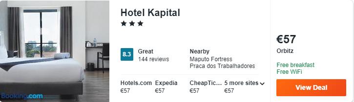 hotel kapital